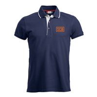 "SC Borea Seattle Polo ""SCB"" Unisex navy"